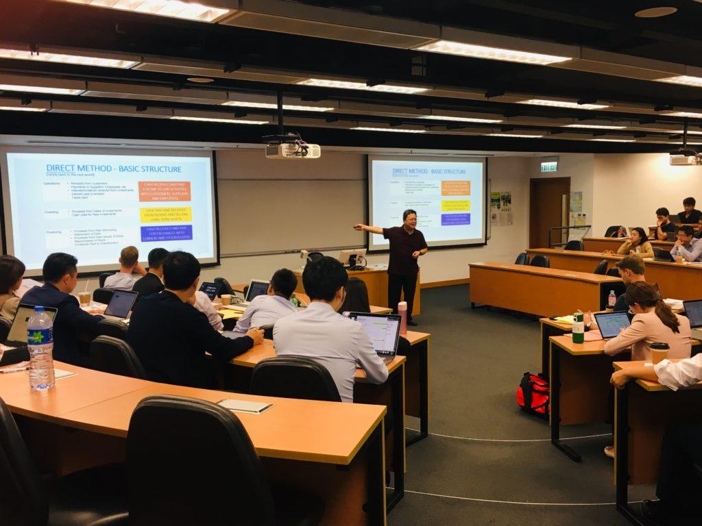香港中文大学MBA授業見学