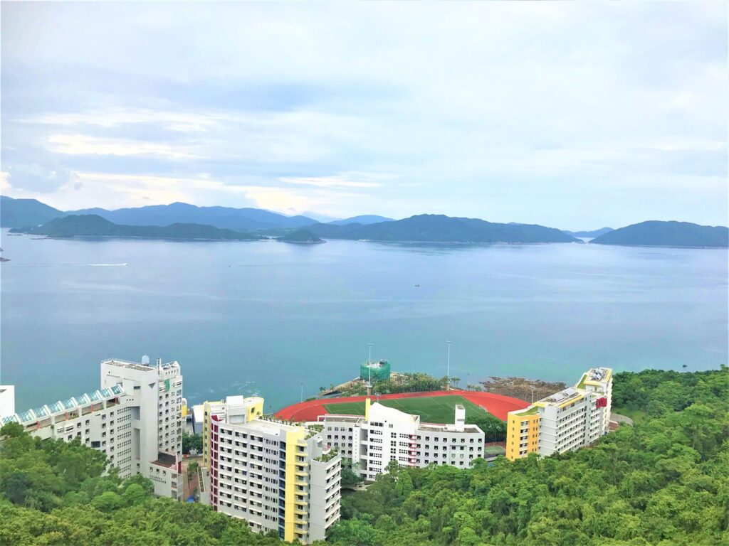 HKUST_寮からの景色