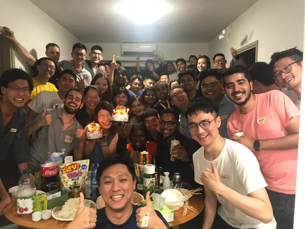 寮内でのパーティー_HKUST